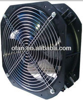 "External Rotor Motor 48v 280mm brushless vehical cooling dc 11"" axial fan"