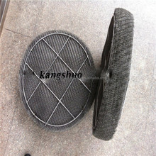 oil and air mist eliminator / Wire mesh filter demister/gas liquid filter wire mesh
