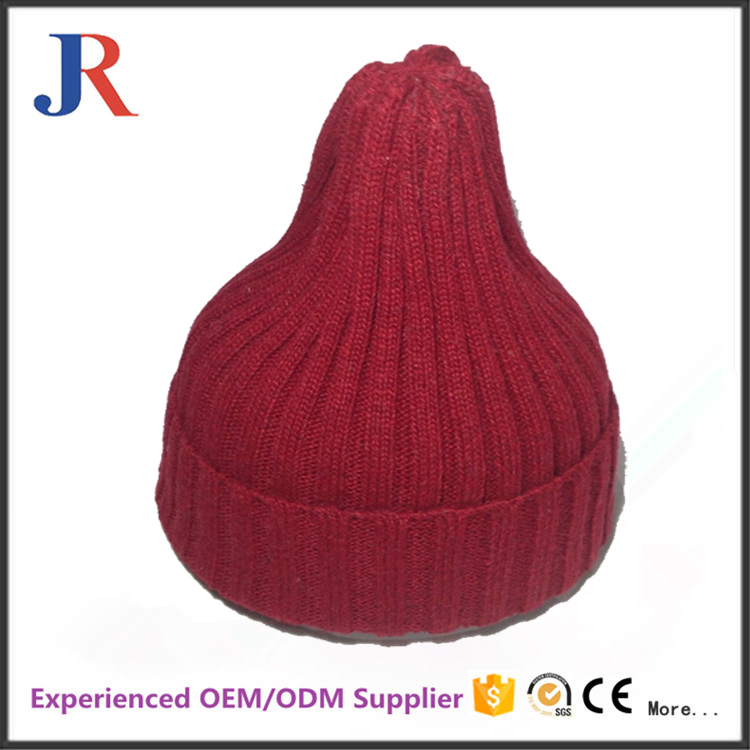 Jiang Run the cheap price fashion sample free high quality knitting models and kids winter hats and caps