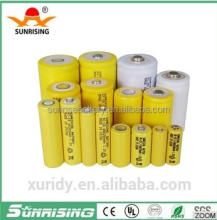 Ni-Cd AA size,2/3AA,2/3AAA 150mAh 1.2v Rechargeable battery cell