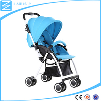 Top selling double wheel brake simple and easy to folding best price baby stroller wheel parts