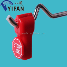 4mm/5mm/6mm/7mm/8mm/customed Best quality Security Stop lock For Anti-theft Peg hook stoplock magnetic detacher key(YF-052)