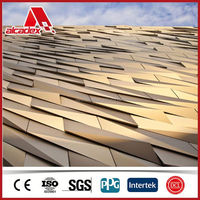 Alu Cladding Outddoor Ceiling Material/Large Outdoor Wall Decor