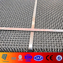Vibrating Screen Spare Parts Crusher screen mesh for Gabbro Aggregate