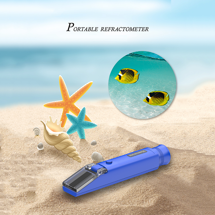 2018 The latest handheld refractometer  0-32%Brix