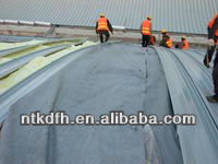 Breathable membrane for metal roofing solutions