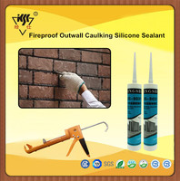 Fireproof Outwall Caulking Silicone Sealant