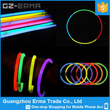 party supply ABS multicolored fashion glow sticks bracelets necklaces