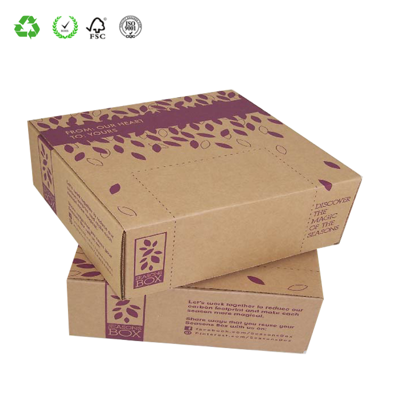 Printed Products Packaging Foldable Corrugated Printed