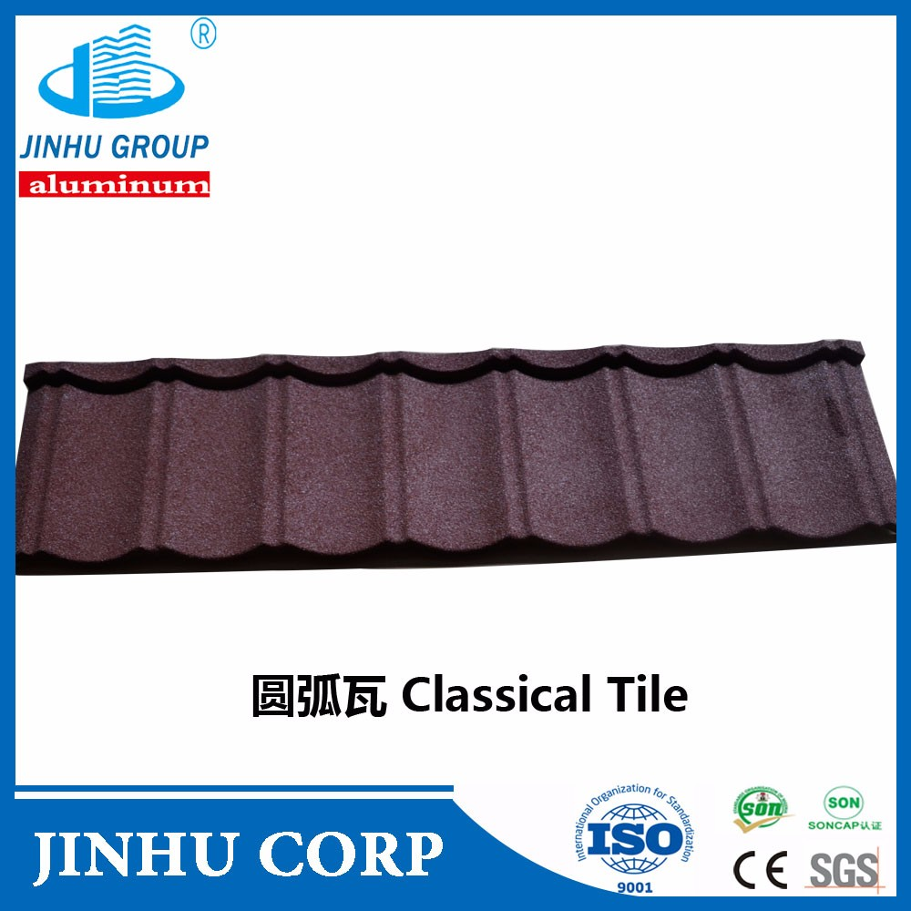 Korea Quality Stone Coated Metal Roof Tile-classic Tile price factory