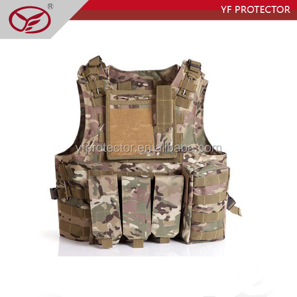 Police Tactical vest with molly system nylon fabric