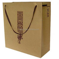 kraft paper bag with window/ colorful kraft paper bag for shopping/ manufacture of all kinds of paper bag for promotions
