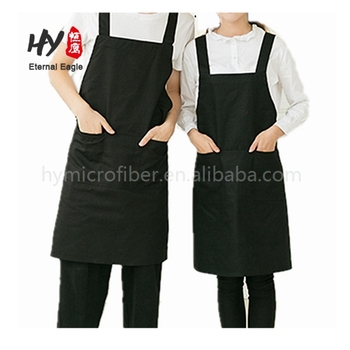 Popular sublimation print cotton with pockets aprons