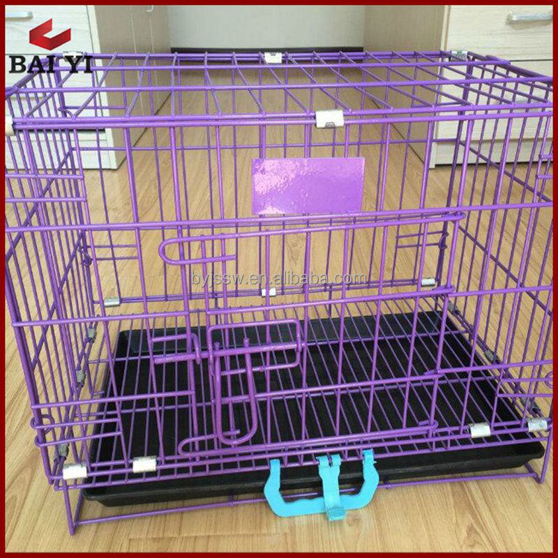Folding Metal Mesh Dog Cage Price