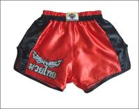 Muay Thai Boxing Short Red XX Large Size Original Design from Thailand