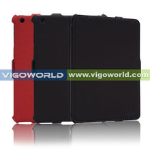 PU Leather Flip/Folding Case/Cover/Stand for Apple Ipad Mini with Automatic Wake