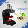 portable dual heating platens pneumatic rosin extraction press