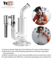 yocan thor portable New arrive online original Yocan Ultron portable enail create a strong pure taste clear glass pipe
