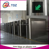 factory entrance gate electronic security barriers security flap gate security system