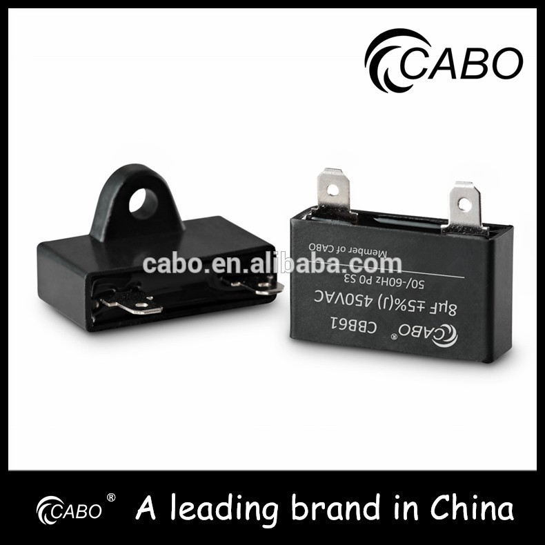 Factory wholesale wuxi motor capacitor for ac use