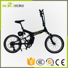 Fashion Design 36v 250w BaFang Motor Foldable Ebike