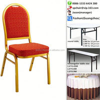 hotel stacking stainless steel banquet chair
