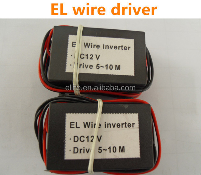 Newest technology thin lighting el wire roll