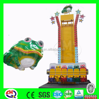 Entertainment equipment frog jumper for kids hot selling