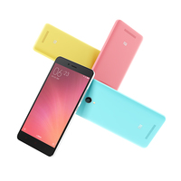 Tele Xiaomi Redmi Note 2 Red Mi Note2 Cheapest 3G Feature 4G Price 2GB RAM 16GB ROM Android 5.0 13MP Mobile Phone
