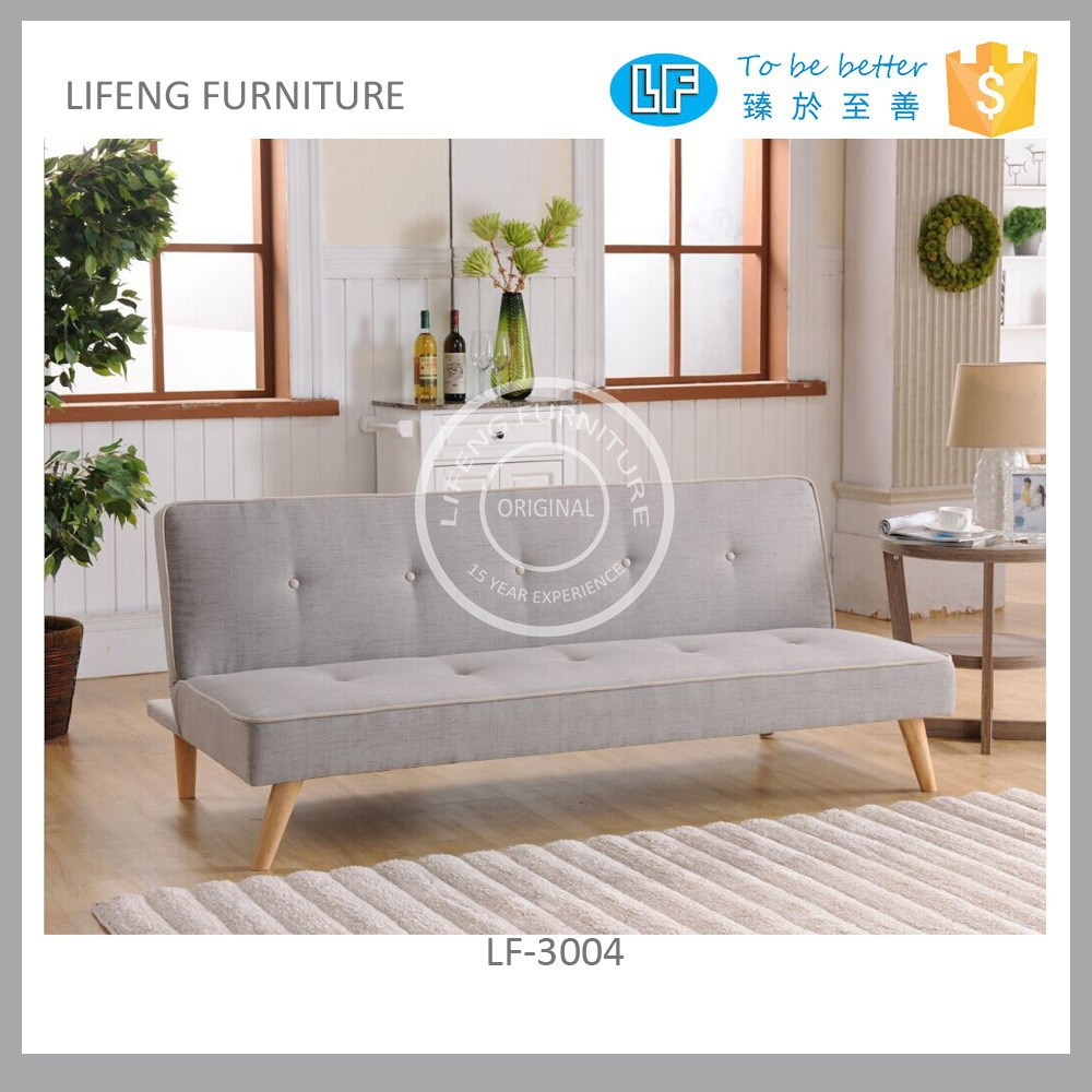 fabric sofa bed with contrast piping, LF-3004