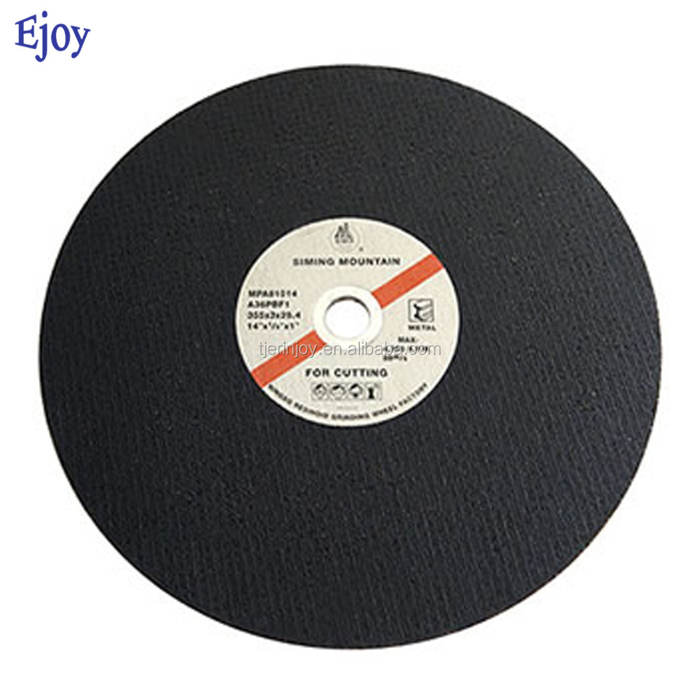 production line grades of 400mm shaped sandstone cast iron a24qbf concave diamondMetal aluminum oxide Cutting grinding Wheel