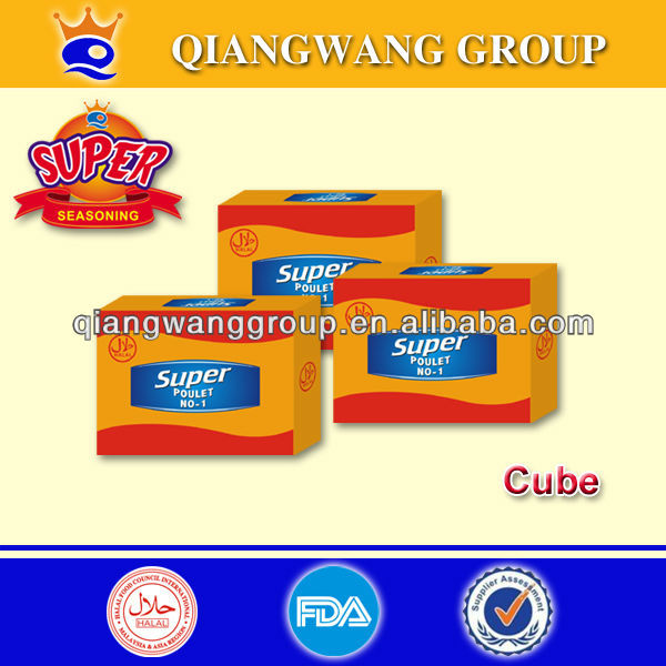 12G/CUBE SUPER HALAL SHRIMP CONDIMENT CUBE/SOUP CUBE