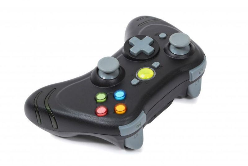 Display LCD Wireless Controller - Preto (Xbox 360)