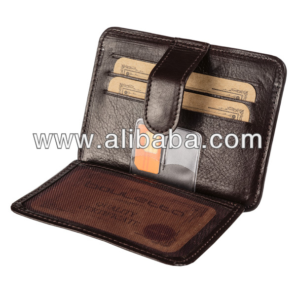 Bouletta BLWL-019 Slim Card Holder - Brown
