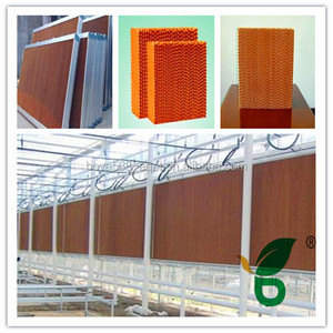 automatic wet curtain for poultry farm