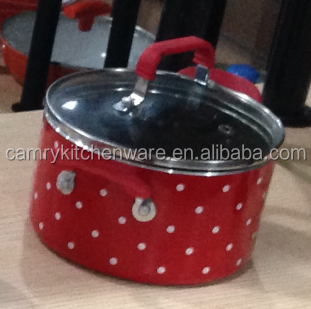 Carbon Steel Pot Painting Design