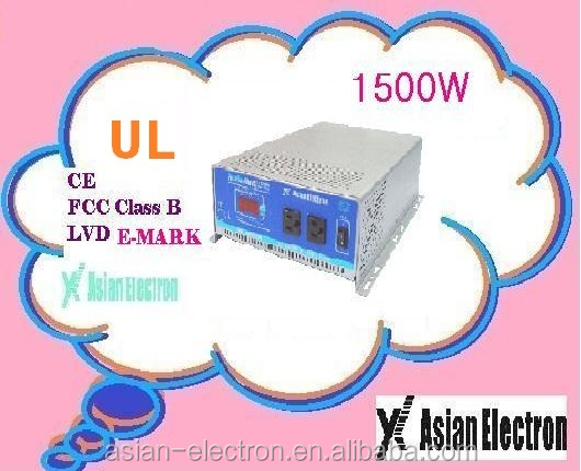 UK type outlet Power inverter 1500W for home appliciances and solar system 1500W inverter