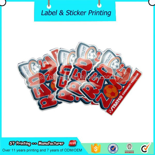 Best selling vinyl decal, high quality PVC die cut decal, waterproof die cut sticker