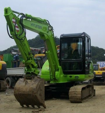 SURPLUS HYUNDAI R555MVP 2001 YEAR MODEL BACKHOE/EXCAVATOR UNIT PACKAGE