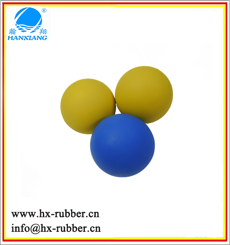 newly rubber parts of durable customize bouncing rubber natural ball