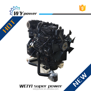 Yan-mar technology 4-cylinder diesel engine for sale for generator set