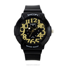 fashion plastic waterproof unisex colour watches