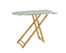 WD-3 luxury wooden ironing board friendly-use folding clothes ironing board with solid wood legs cheap price ironing board