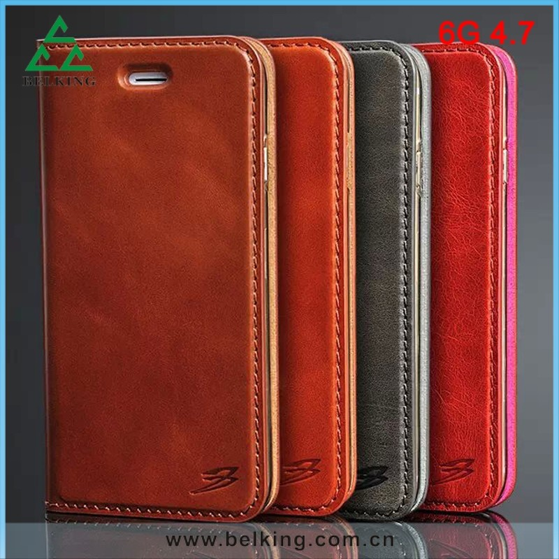 OEM Genuine Leather Phone Cover Phone Case For Apple iPhone 6 Case