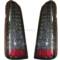 Newest smoked cover LED tail lights for Toyota Hiace KDH 200 commuter van auto parts