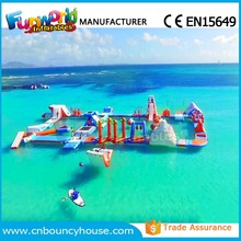 2017 Giant Inflatable Aqua Park Water Park Water Play Equipment