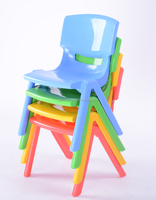 Baole Brand school plastic table and chair for kids, plastic childrens chairs