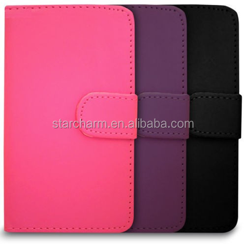 Wallet style smart cover case for Nokia lumia 720
