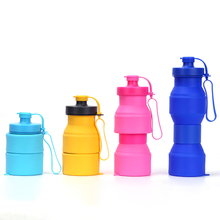 Shenzhen Supply Durable <strong>Sports</strong> Foldable Collapsible Ryhx Silicone 800ml Water Bottles