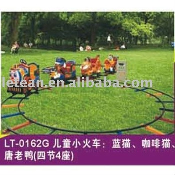 outdoor playground equipment amusement park electric train